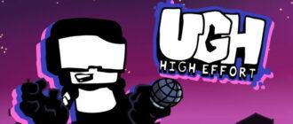 Friday Night Funkin High Effort Ugh 2.0